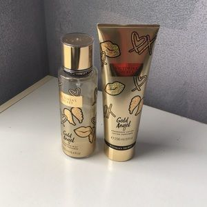 Gold Angel Fragrance lotion and fragrance mist